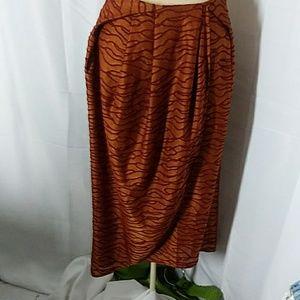 Zara tulip skirt
